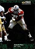 Orlando Pace Football Card (Ohio State) 1997 Upper Deck Turf Champions #TC4 Rookie. rookie card picture