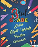 3rd Grade Dolch Sight Words Practice Worksheets: Smart Word Tracing, Coloring, Circle & Build the Word For Children - Sight Word Practice to Build Strong Readers