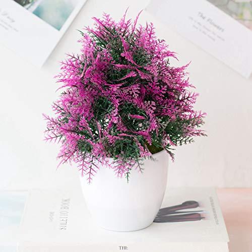 TODGLG Artificial Persian Grass 25, Decorative Green Plants for Gardens, Porches, Flower Solids, Windows, Decoration,C
