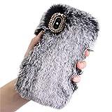 Vovotrade Pour iPhone 5 / 5s Fluffy Villi fourrure en peluche Laine Housse + PEN +...