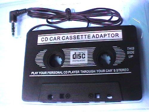 CD Card Cassette original: adaptador de entrada de audio jack de 3,5 mm para radio de coche con casete.