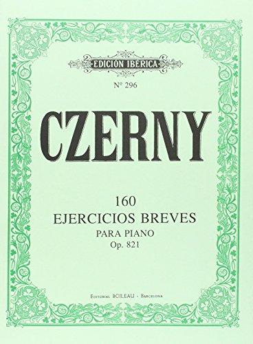 160 Ejercicios Breves Op.821