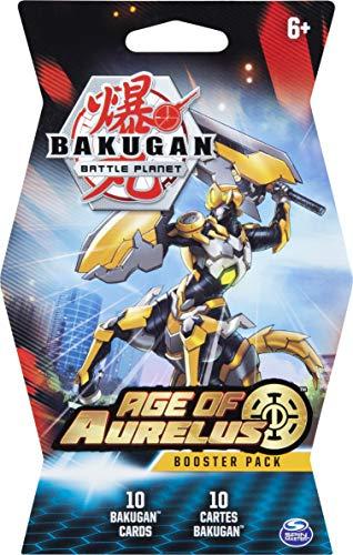 Bakugan Battle Brawlers Booster Pack, Sammelkarten für Kinder ab 6 Jahren