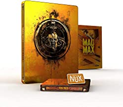 MAD MAX FURY ROAD Premium Steelbook Titans Of Cult 4K UHD Blu-ray (BLACK AND CHROME EDITION included; Region-Free European Import)
