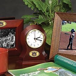The Memory Company NCAA Auburn University Official Desk Clock, Multicolor, One Size