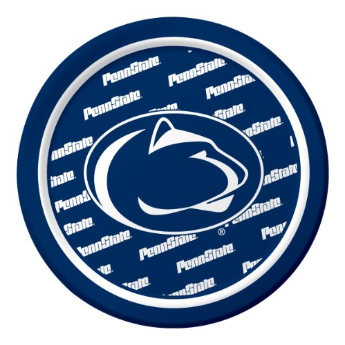 8-Count Sturdy Style Paper Dessert Plates, Penn State Nittany Lions
