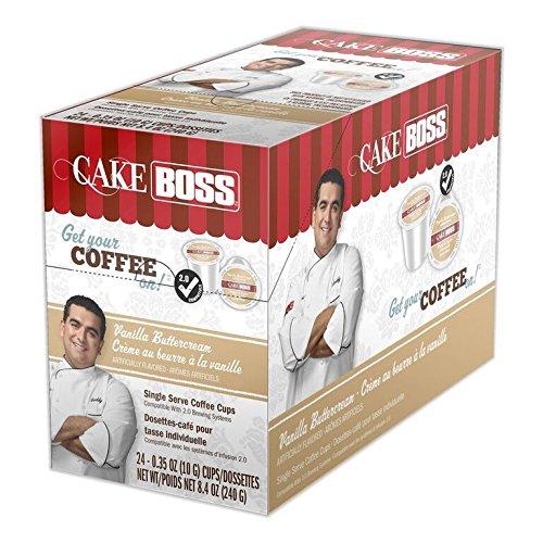 Cake Boss Coffee Vanilla Buttercream, 24Count: Amazon.com: Grocery & Gourmet Food
