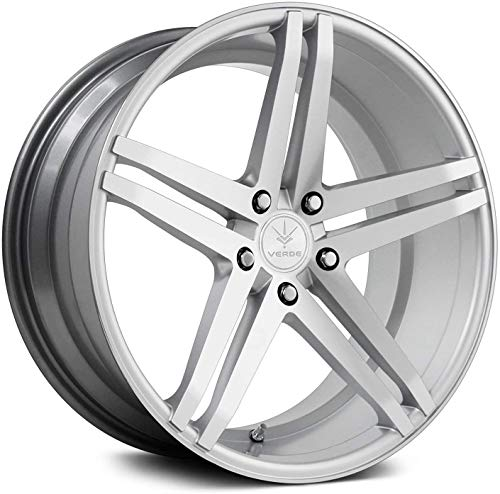 Verde Custom Wheels Parallax Silver Wheel with Machined Face (22x9