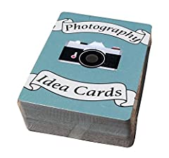 Includes 72 idea cards, each with a unique photography theme/challenge Each card has a hashtag, allowing you to share your photos on social media and see what others did for the same photo mission Great gift for photographers! Appropriate for men, wo...