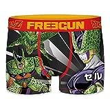 FREEGUN Boxer Briefs Men Dragon Ball Z Collection (M, Cell Transformation)