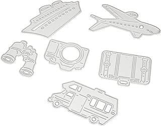 Accessoires pour Big Shot et Autres Machines E Andouy Matrices de D/écoupe pour Scrapbooking Cutting Dies #0703B