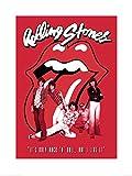 1art1 Rolling Stones - It's Only Rock N Roll Poster