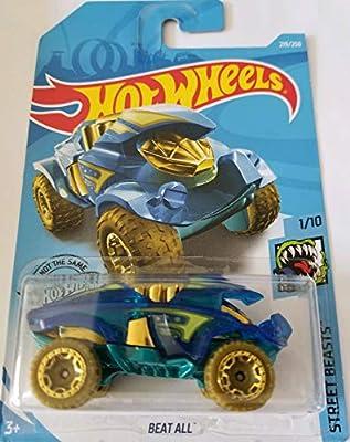 Hot Wheels 2019 Street Beasts - Beat All, Blue 219/250 from Mattel