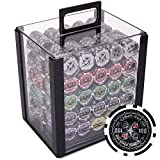 Brybelly Ultimate 14-Gram Heavyweight Poker Chips - Set of 1000 in...