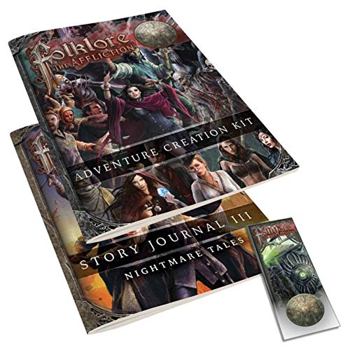 TwinFire Folklore The Affliction: Adventure Creation Kit - Expansión Juego de Mesa