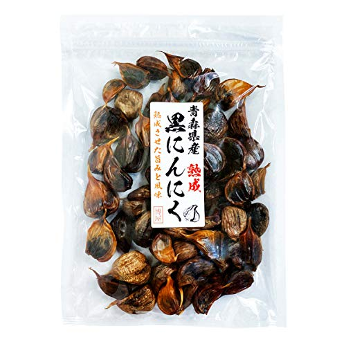 熟成 黒にんにく 青森県産 400g 無添加 大容量 チャック袋入