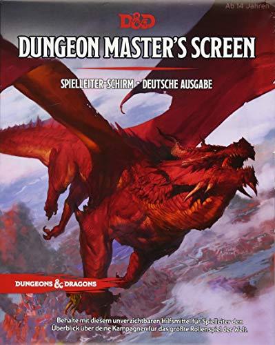 Dungeon Master's Screen - Deutsche Ausgabe: Dungeons & Dragons (Dungeons & Dragons: Zubehör)