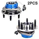 ECCPP 2 PCS Replacement fit for 513121 Wheel Bearing Hub Front Wheel Hub and Bearing Assembly Allure, Aurora, Bonnevile, Century, Impala 5 Lug W/ABS