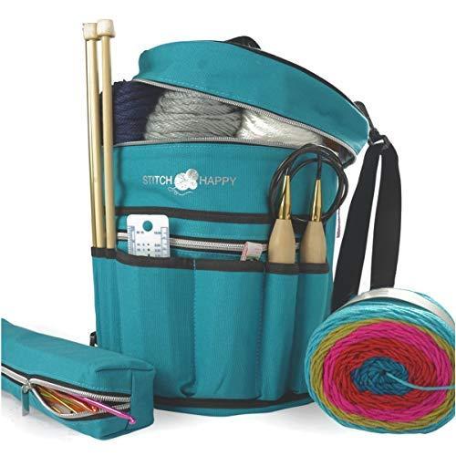 7 Pocket Yarn Bag