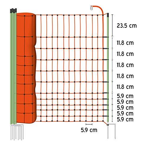 """Euro-Netz """"Geflügel"""" 112/2 – 50 m Geflügelnetz - 2"""
