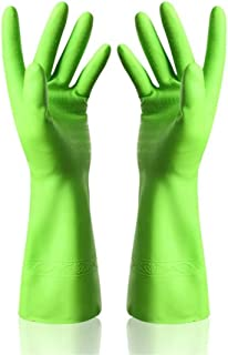 xianshijie Dishwashing Latex Gloves Cleaning Gloves Waterproof Rubber Gloves for Car-Washing Laundry Household Cleaning Kitchen
