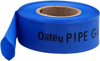 Oatey 38707 Pipe Guard Tape, 4 Mil Sleeve, Polyethylene, Blue, 1/2-Inch, 3/4-Inch, 1-Inch, Bule