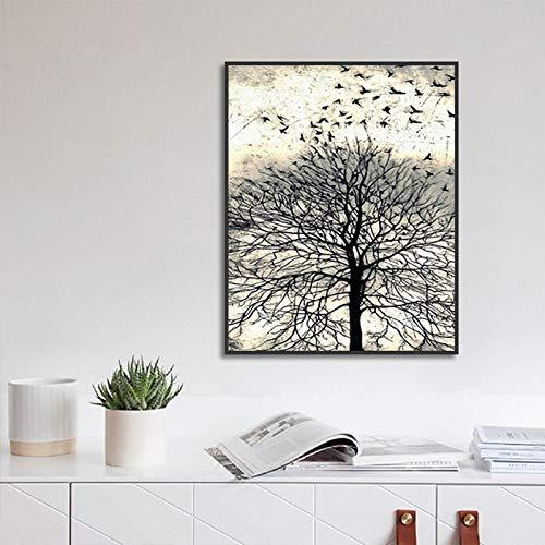 Muurschilderingen woonkamer leeuw olifant luipaard buffel en neushoorn dieren woondecoratie hd schilderij 50x70cm GEEN frame