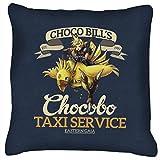 Chocobo Taxi Service Final Fantasy VII Cushion