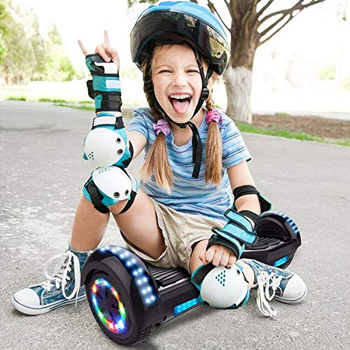 COLORWAY Self Balancing Scooter 6.5 inch - Hoverboards Segway Electric Scooter - Hoverboard - Bluetooth Speaker LED lights & 700W Motor Gift for kids (Purple)