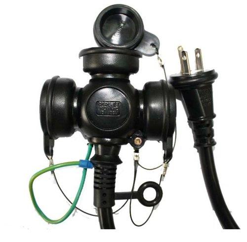 宏和工業 KOWA 防雨コード15A×10m KRW18-10
