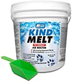 HARRIS Kind Melt Pet Friendly Ice and Snow Melter, Fast Acting 100% Pure Magnesium Chloride Formula,...