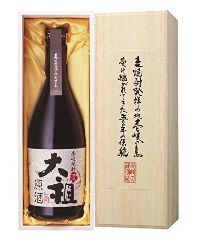 壱岐の蔵酒造 麦焼酎 大祖 原酒 木箱入り 720ml  [長崎県]