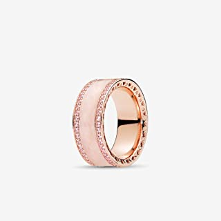 Hearts Rose Gold Ring
