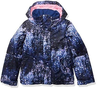 Roxy Big Jetty Girl Snow Jacket, Medieval Blue Sparkles, 12/L