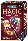 KOSMOS 657413 - Magic Zauber-Tricks, Zaubern lernen im Handumdrehen, Mit Zauberstab und Utensilien...