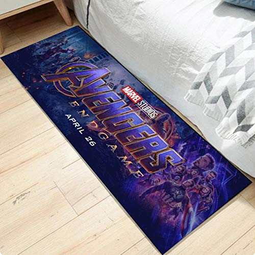 Gypsophila Spiderman The Avengers - Felpudo largo para cocina (50 x 160 cm)