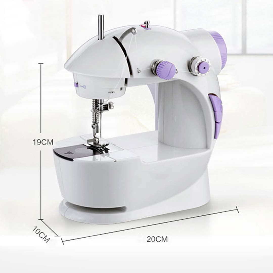 Cabina Home - Máquina de coser pequeña con mesa de extensión, con ...