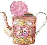 Baci Milano - Teiera porcellana piccola diffusore essenza con fiore di carta -TEAPO2,TEA01