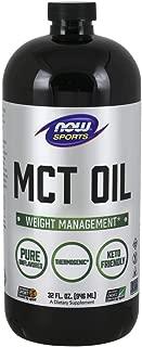 NOW Sports Nutrition, MCT (Medium-chain triglycerides)Oil, Liquid, 32 Fl Oz