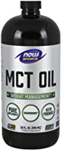 NOW Sports Nutrition, MCT (Medium-chain triglycerides)Oil, Liquid, 32 Fl Oz