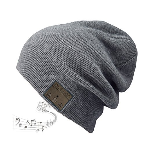 54cc252fb5b Blue ear® Bluetooth Wireless Music Knitted Beanie With Stereo Speaker And  MIC V4.1