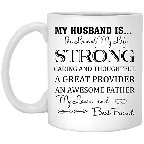 My Husband is The Love of My Life My Lover and Best Friend Valentines Day Mug