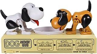 مصرف المال الجياع الأكل الكلب المال صندوق المال بنك التلقائي سرق عملة أصبع البنك توفير المال مربع هدية للطفل مصرف خنزيري