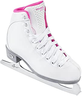 Riedell Skates - 18 Sparkle Jr. - Youth Beginner Soft Figure Ice Skates with Steel Blade for Girls
