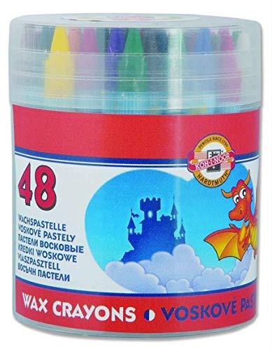 Koh-I-Noor Wachsmalstifte 48 Farben