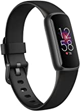 Fitbit Luxe,Black/Black, 1 Count (Pack of 1)