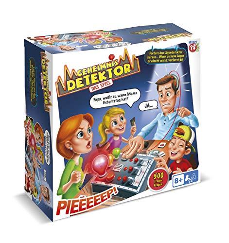 Play Fun - Geheimnis Detektor auf Deutsch - Fun Brettspiel für Kinder ab 8 Jahren