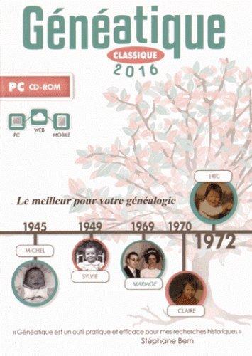 Généatique classique Edition 2016