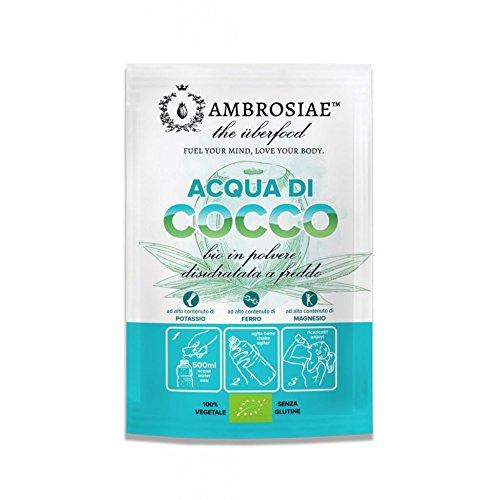 Ambrosiae Acqua di Cocco Disidratata, 10g