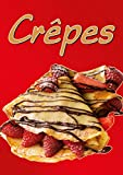 Plakat Crêpes -rot- DINA1-100prozent wasserfest PVC